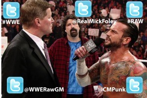 Twitter on Raw