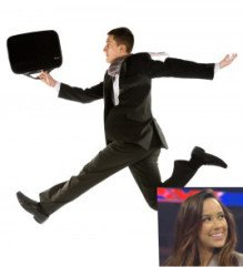 AJ Lee skipping