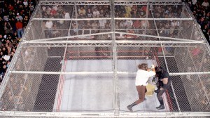 Hell in a Cell roof