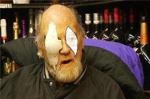 Shot in Eye Rock Punk