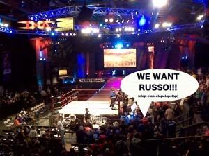Vince Russo wrestling