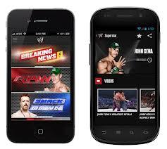 wwe smartphone app