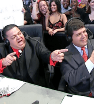 Spanish announcers wwe