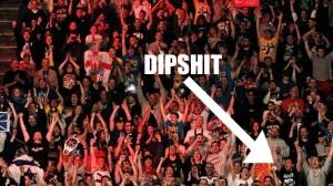 DIPSHIT AT RAW