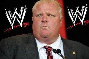 Rob Ford wrestling