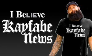 kayfabe news shirt