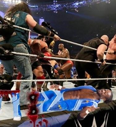 Kofi Kingston elimination