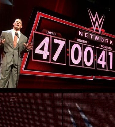 WWE network launch date