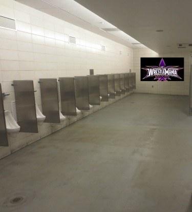 Divas bathroom break