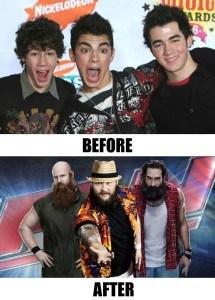 Jonas Brothers early