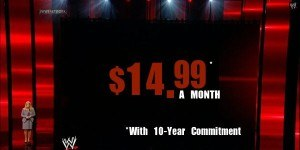 WWE Network price