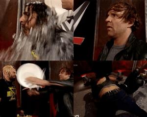 WWE ice bucket challenge