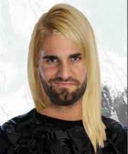 Seth Rollins hair