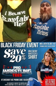 Black Friday Kayfabe News Shirts