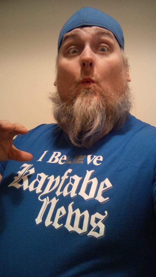 blue meanie kayfabe shirt