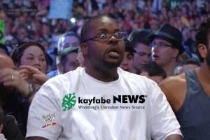 Shocked fan kayfabe shirt
