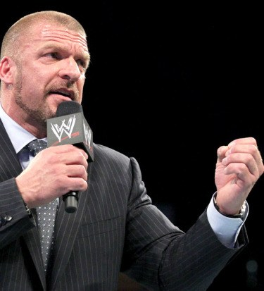 Hunter Hearst Helmsley, a.k.a. Triple H, has made a New Year's resolution to spend more time yammering on Raw.