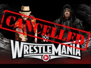 Undertaker sick