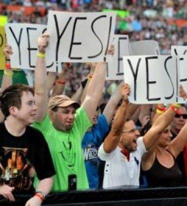 Wrestlemania fans