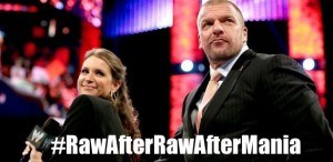 The Raw after the Raw after WrestleMania will be a lot like the Raw before the Raw  before the Raw before the Raw before WrestleMania.