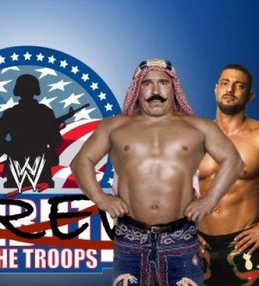 tribute troops wwe