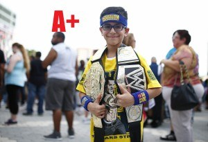 WWE grades cities