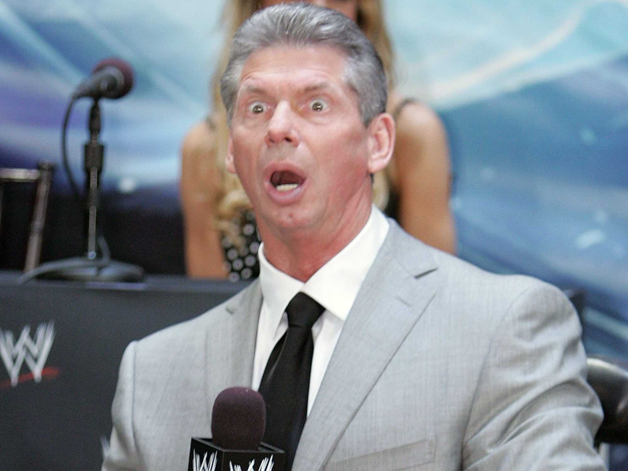 Vince Mcmahon >> Vince Mcmahon Starting To Wonder If Wrestling Might Be Rigged