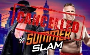 Lesnar undertaker