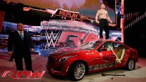 Lesnar car
