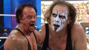Sting undertaker wrestlemania