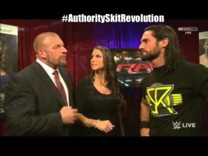 authority wwe backstage