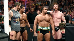 WWE league of nations