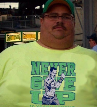 Cena never give up