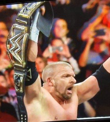 Triple h wins royal rumble