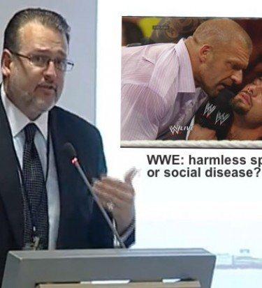 pro wrestling violence