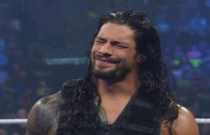 reigns can't wrestle