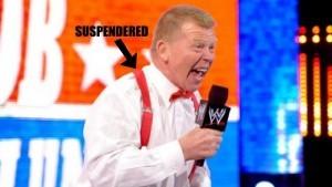 Backlund suspendered