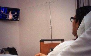 Hospital bed jericho fan