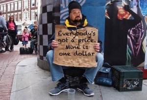 Ted Dibiase begging