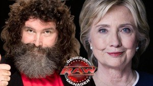 Hillary Clinton WWE general manager