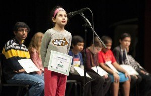 Spelling bee girl