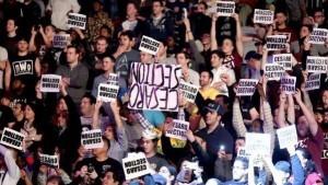 upside down wrestling signs