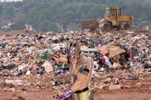 dumpster match