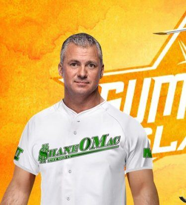 Shane McMahon (left, no rotors) will settle the score with his latest nemesis, Hell E. Copter, at SummerSlam.
