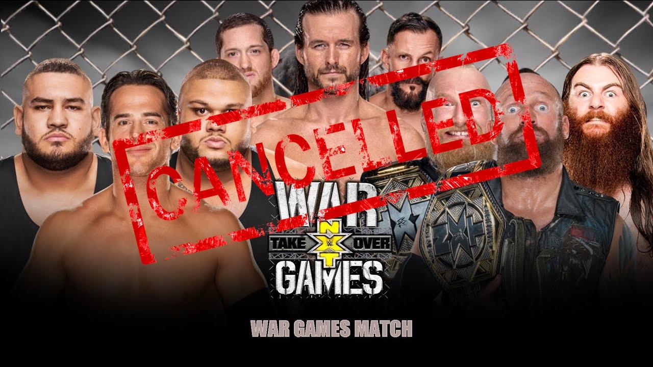 NXT TakeOver cancelled after concerned parents deem WarGames