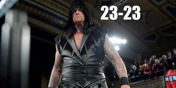 undertaker losing streak