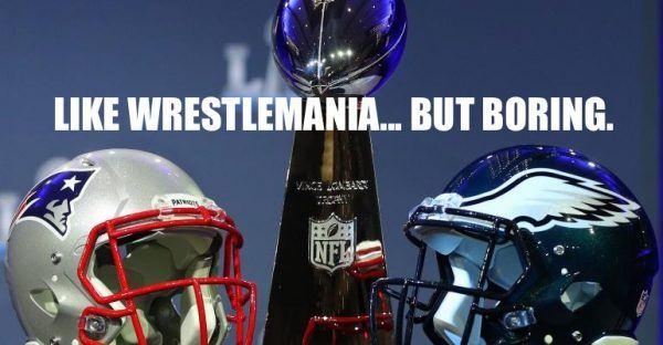 superbowl wrestlemania