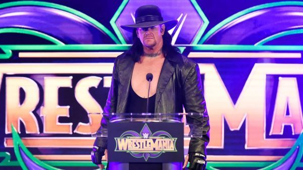 undertaker wrestlemania 34