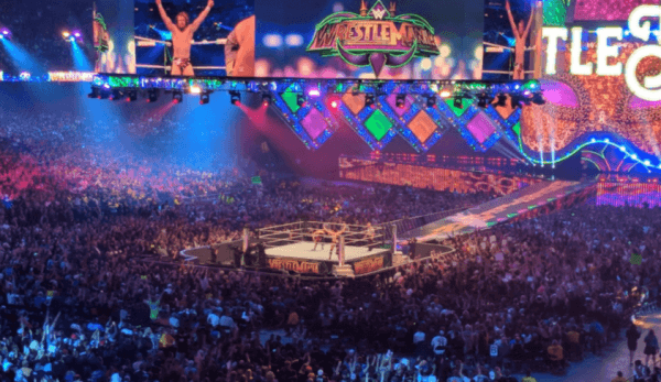 wrestlemania 34 crowd