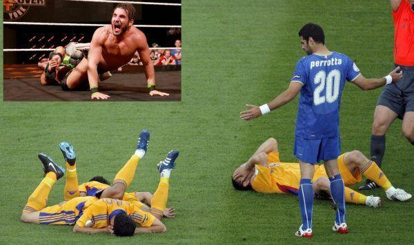 soccer fake injuries